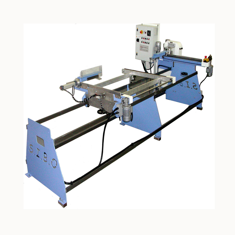 Horizontal loader for straight pieces